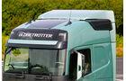 Neuer Volvo FH – Antrieb, gerundete Dachlinie
