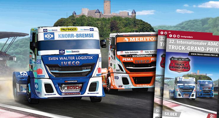 Truck Grand Prix 2017 10 X 2 Karten Zu Gewinnen Eurotransport
