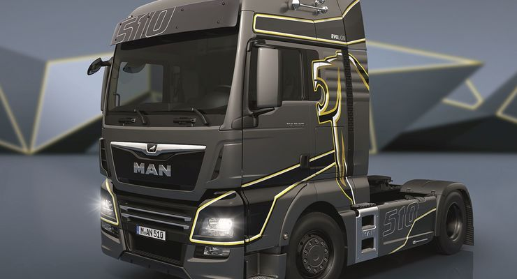 20 Jahre MAN Trucknology-Generation