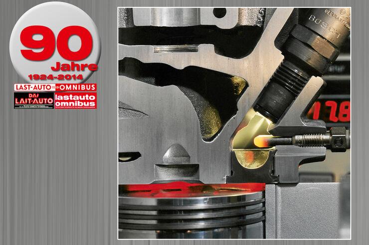 90 Jahre Lkw-Diesel