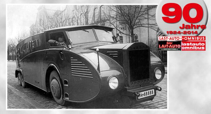 90 Jahre lastauto omnibus, Streamline einst