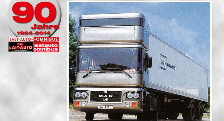 90 Jahre lastauto omnibus, X90, MAN