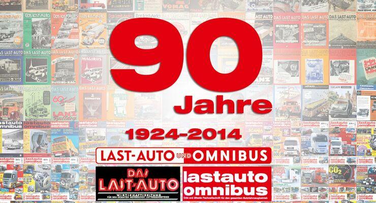 90 Jahre lastauto omnibus