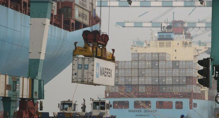 A.P. Møller - Mærsk hat seiner Containerproduktion nach China verkauft.