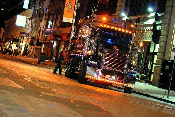 Abenteuer, Müllmänner in New York, Truck
