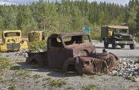 Alaska-Highway, Abenteuer FF 1/2018, US-Trucks.