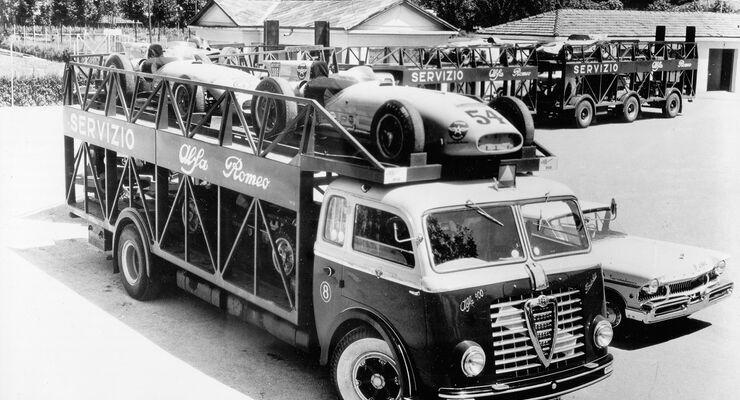 Alfa Romeo, Autotransporter