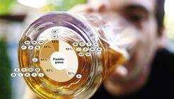 Alkohol, Montage, Promillegrenze, Promille