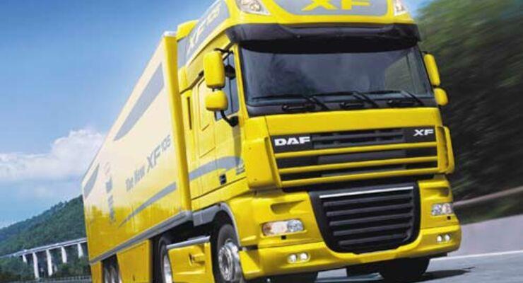 Alle Modelle von DAF sind mit EEV Motoren zu haben.