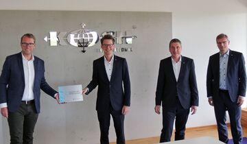 Auszeichnung für Koch International aus Osnabrück