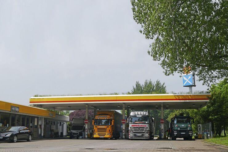 Autohof Georgswerder, Truckstop FF 8/2017.