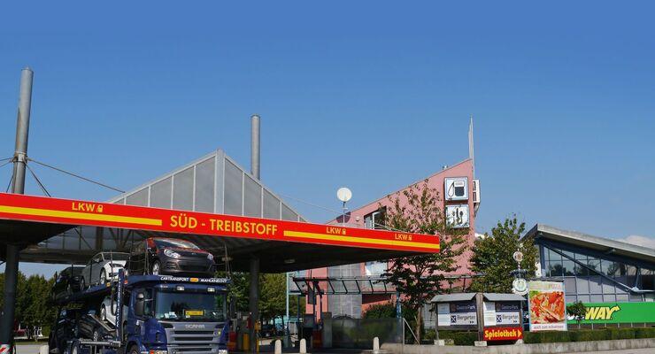 Autohof Wörth Truckstop