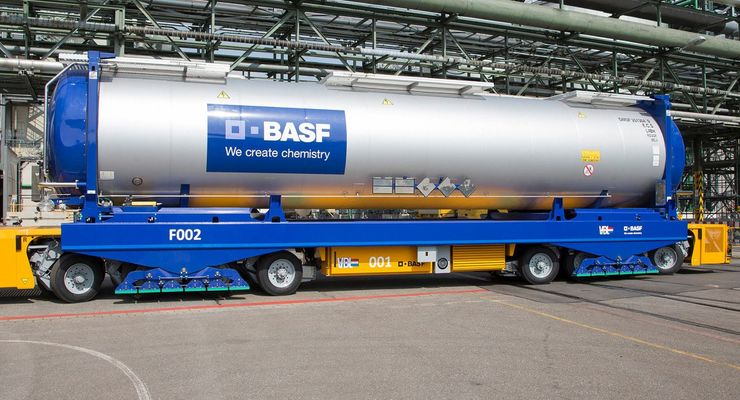 BASF optimiert Logistik am Standort Ludwigshafen / BASF optimizes logistics at Ludwigshafen site