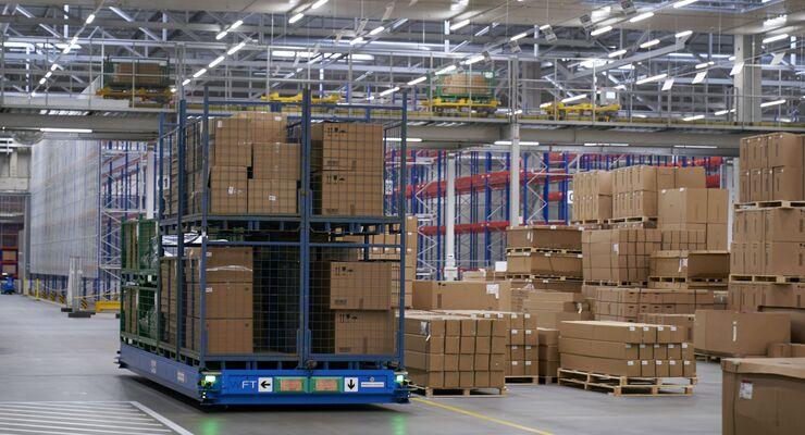 BMW, Aftersales, Logistik, autonom, Transportplattform