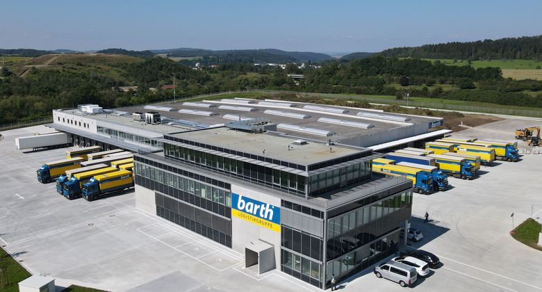 Barth Logistikgruppe Speditionshub Hechingen
