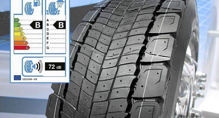 Betrug beim EU-Reifenlabel, Lkw-Reifen