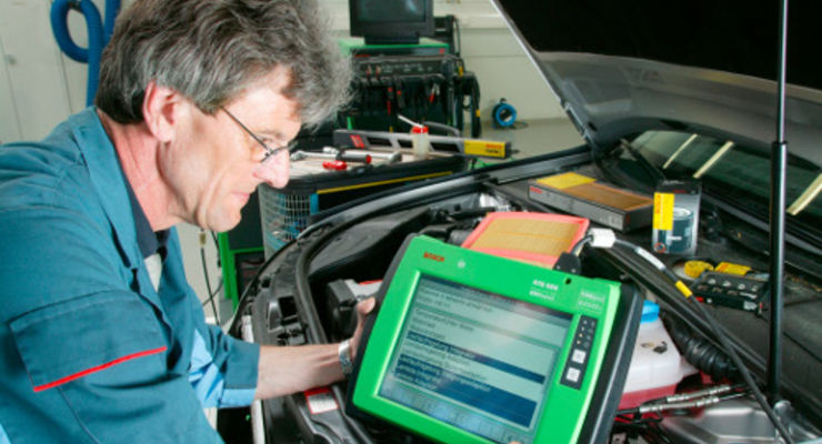 Bosch Service Betriebe mit Flottencard preiswerter