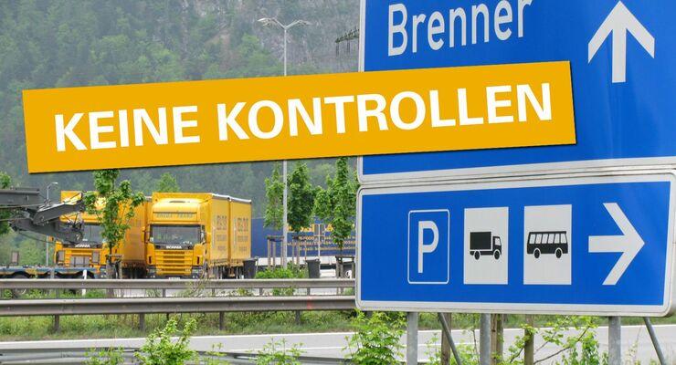Brenner, Rastplatz, Montage, Autobahn, Österreich