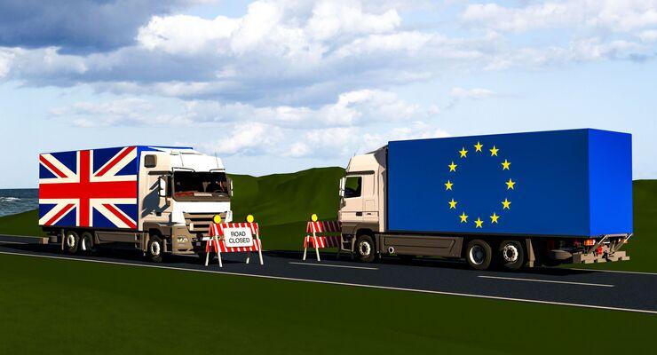 Brexit Lkw