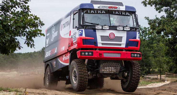 Buggyra testet Dakar-Tatra 815