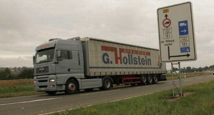 Bundesstraßen: Wirtschaft gegen Lkw-Sperrung