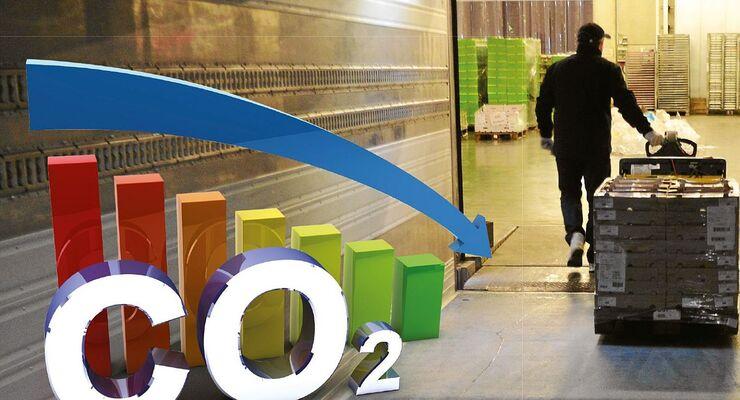 CO2-Fußabdruck in der Logistik