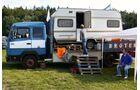 Camping alterntiv: Wagenburg Marke Truck Grand-Prix.