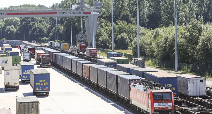 China, Zug, Deutsche Bahn