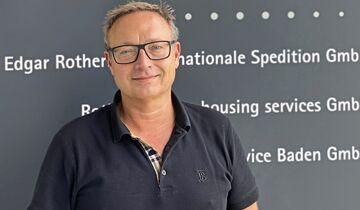 Christian Rothermel, Geschäftsführer Spedition Rothermel