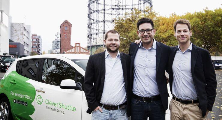Clevershuttle und Daimler Buses machen gemeinsame Sache