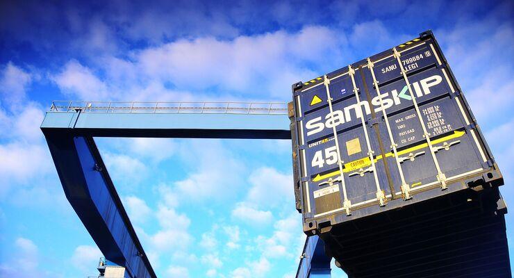 Container von Samskip