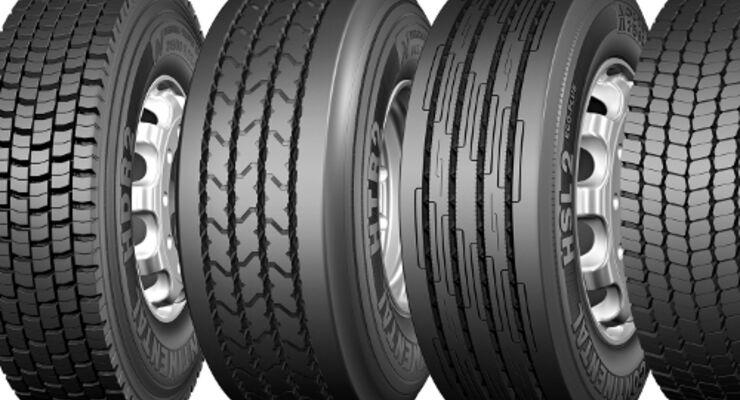 Continental stellt acht neue Lkw-Reifen vor