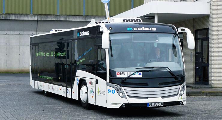Contrac E-Cobus, Flughafenbuss