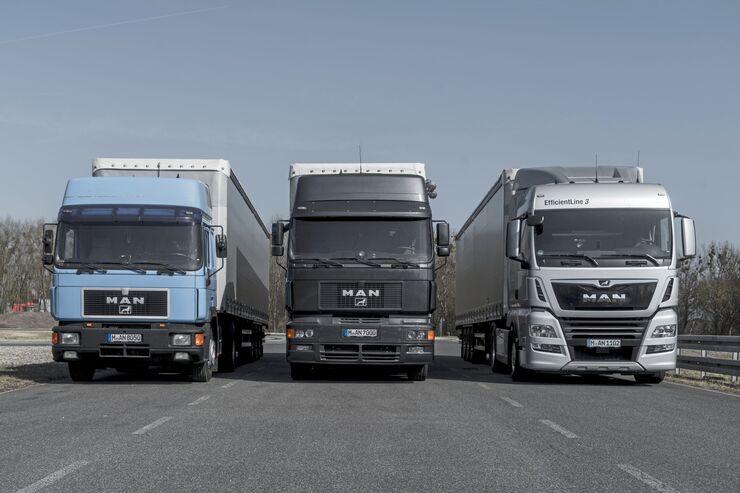 DE: Neue MAN Lkw der Euro 6-Norm rollen seit August 2017 serienmäßig mit RIO-Box vom Band. EN: New MAN Euro 6-standard trucks come since august 2017 with RIO-Box as standard equipment.
