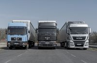 DE: Neue MAN Lkw der Euro 6-Norm rollen seit August 2017 serienmäßig mit RIO-Box vom Band. EN: New MAN Euro 6-standard trucks come since august 2017 with RIO-Box as standard equipment.