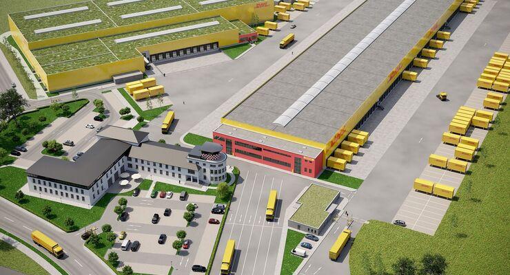 DHL-Neubau in Erlensee