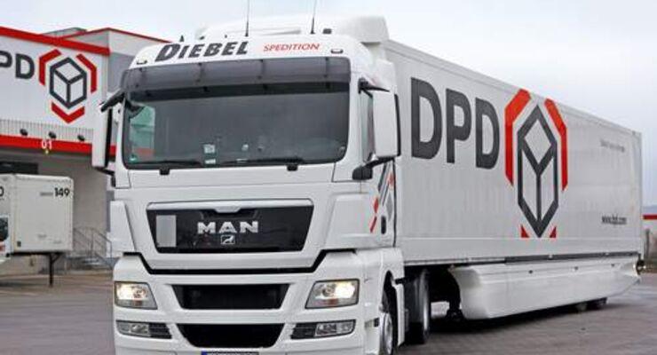 DPD setzt auf aerodynamische Lastzüge