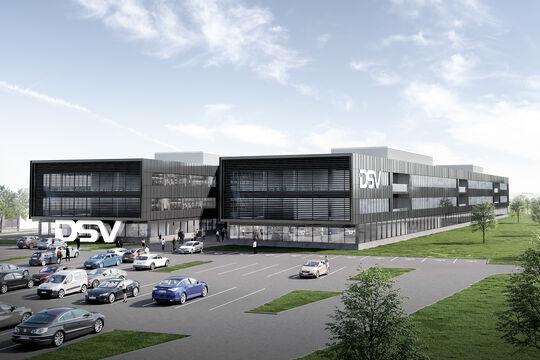 DSV, Panalpina, Logistikzentrum, Logistik