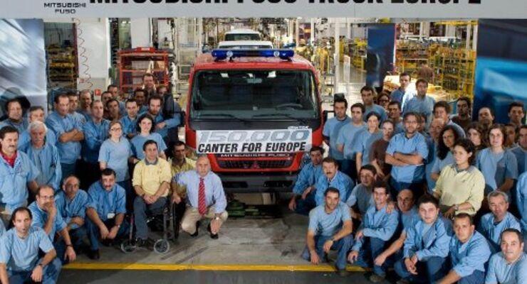 Daimler: 150.000 Fuso Canter