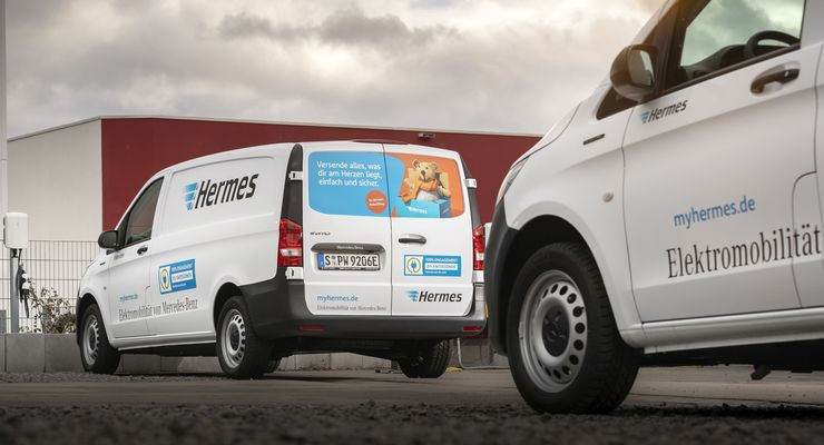 Daimler-Stromer für Hermes