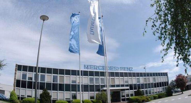 Daimler investiert am französischen Standort Molsheim