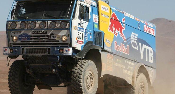 Dakar: Kamaz weiter vorn