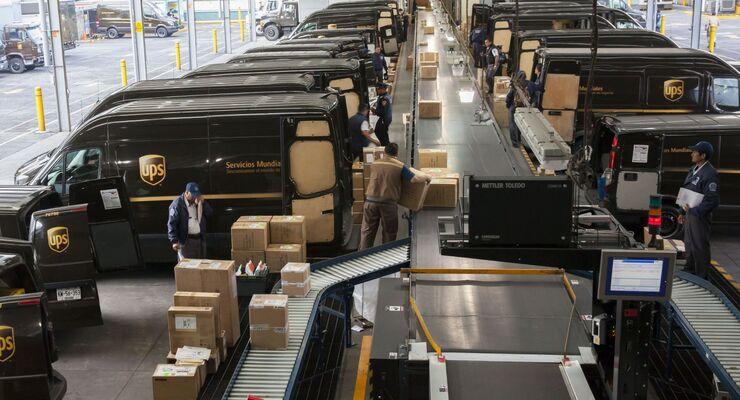 Der Versanddienstleister UPS übernimmt Freightex.