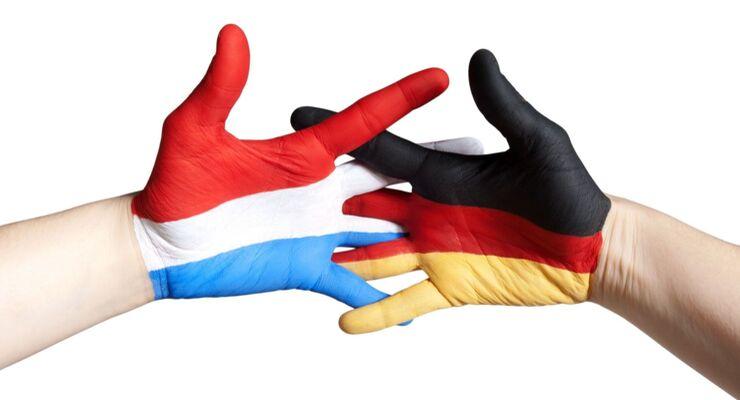 Deutschland, Holland, Niederlande, Hände