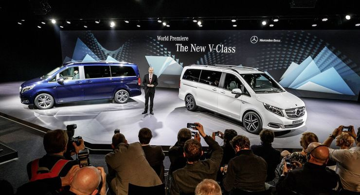 Die neue V-Klasse. Weltpremiere 2014, The New V-Class. World Premiere 2014