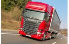 Die stärksten Serien-Lkw, Vergleichstest, Scania, R730