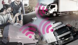 Digitaliserung im Transportsektor