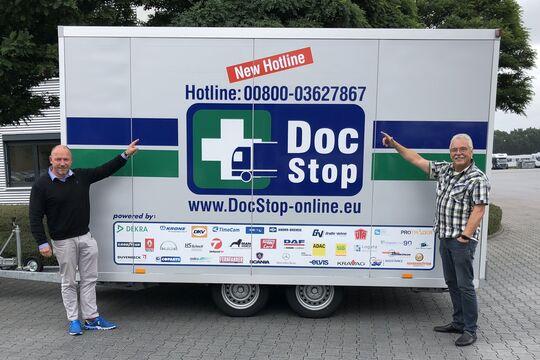DocStop, Rainer Bernickel, Joachim Fehrenkötter, DocStop-Rufnummer