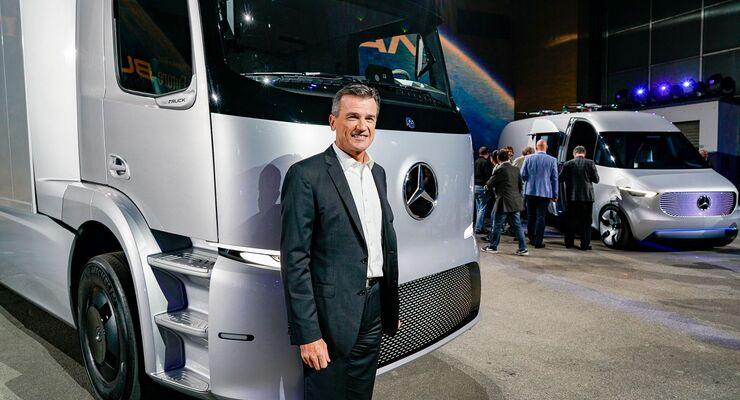 Dr. Wolfgang Bernhard Urban e Truck
