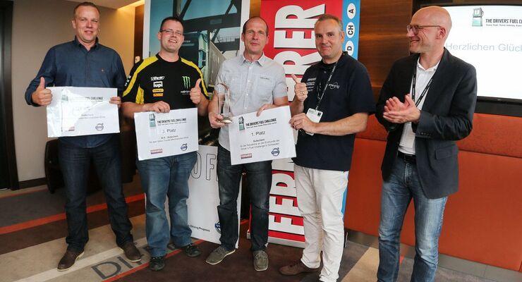 Drivers Fuel Challange Nürburgring